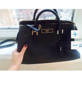 Черная сумка dkny новая