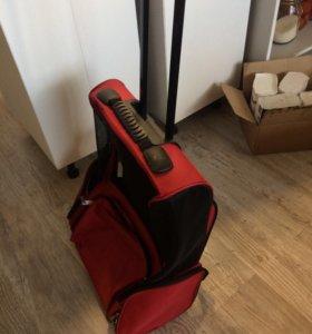 Чемодан-рюкзак-переноска для собак.