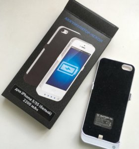 Аккумулятор-чехол iPhone 5/5s