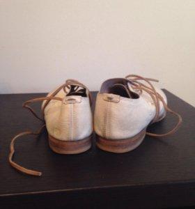 Женские кожаные ботинки Marsell