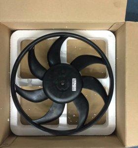 Вентилятор системы охлаждения opel corsa d