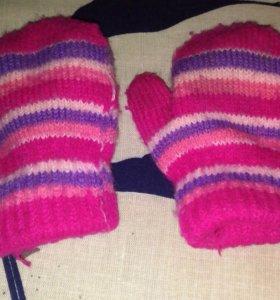 Перчатки на 1 годик
