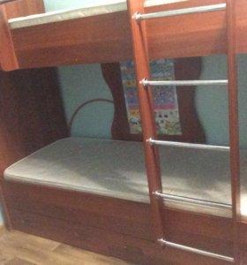 Двухъяростную кровать