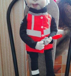 Кукла железнодорожник