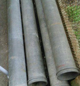 Оцинкованые трубы 4 шт. 150 диаметр.6 метров длина