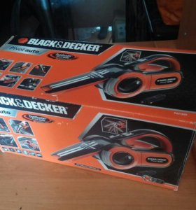 Авто пылесос Black&Decker