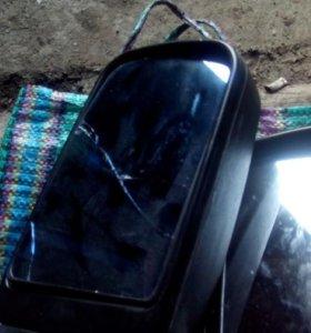 Зеркала с подогревом и электроприводом на уаз...