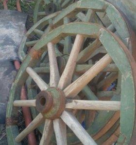 Колеса для телеги или дизайна качелей