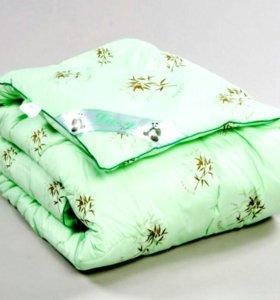 Мягкое бамбуковое одеяло 1,5 сп.