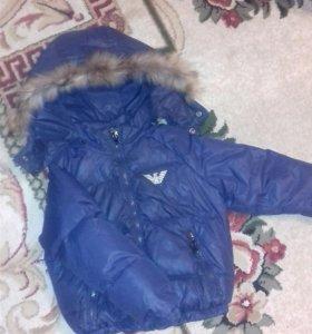 детская куртка на мальчика.