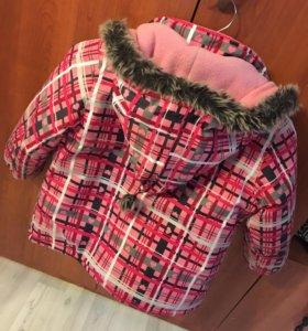 Куртка на флисе зимняя