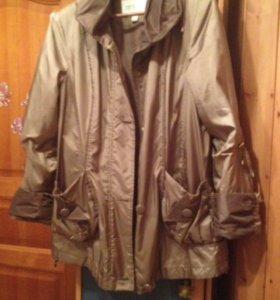 Куртка на флисе, 50-54р