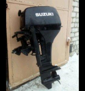 Лодочный мотор suzuki 15л/с+лодка Nissamaran 360