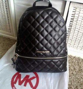 Женский рюкзак кожаный майкл корс michael kors мк