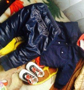 Одежда на мальчика 6-12 мес.