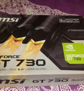 Видеокарта GeForce GT 730 4GB