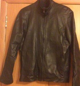 Куртка мужская натуральная кожа р46-48