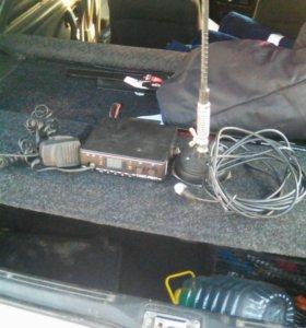 Комплект рация+антенна,удобная вещь для такси,