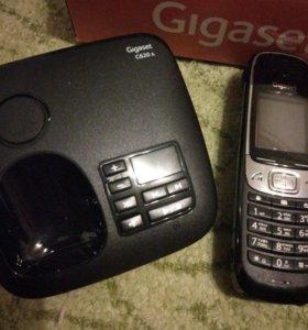 Радиотелефон Gigaset C620a на гарантии!