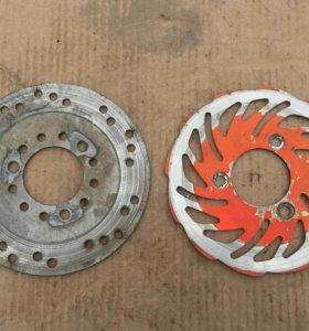 Stels Vortex 50-150 диск тормозной