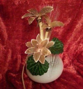 Светильник декоративный цветы