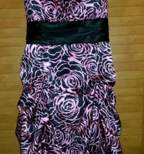 Нарядное коктельное платье с болеро