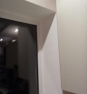 Монтаж откосов на оконных и дверных проемах