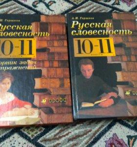 Книга Русская словесность 10-11 Горшков