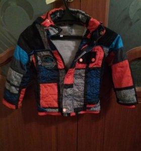 Куртка на мальчика, весна/осень,