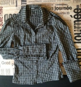 Рубашка, 42-44, почти новая