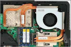 Процессоры и кулеры, охлажденидля ноутбуков разные