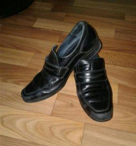 Детская обувь кожа