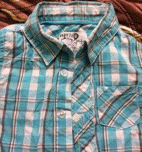 Рубашка для мальчика 74