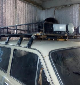 Багажник с люстрой на Ниву