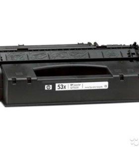 Картридж к принтеру hp laserjet p2015 бу