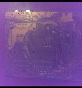 Материнская плата с процессором Pentium dual core