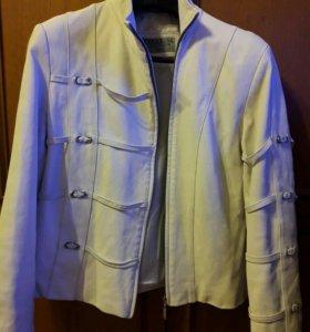 Куртка кожаная 48-50р.