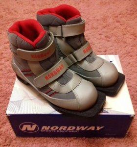 Ботинки лыжные ❄️ Лыжи 🎿