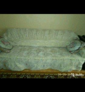 Чехол на диван и на два кресла