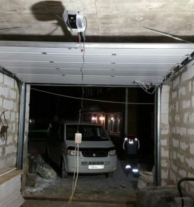 Поъемные гаражные ворота Алютех 3000х2500