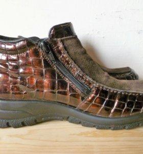 Новые женские кожаные ботинки