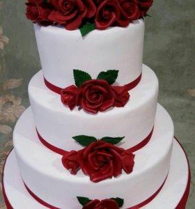 Торты , пирожные.