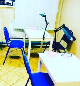 Новые столы и стулья для маникюра