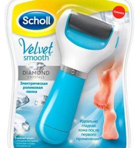 Пилка Scholl Velvet Smooth роликовая электрическая