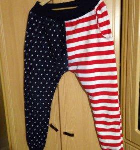 Трикотажные брюки штаны
