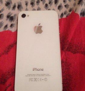 Продам iPhone 4s 16 gb в хореем состоянии
