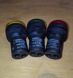 Светодиодный индикатор d=22mm в дверь шкафа_CHINT
