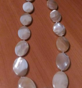 Новое ожерелье из нат.перламутра