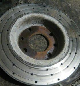 Тормозные диски и колодки ваз 2109