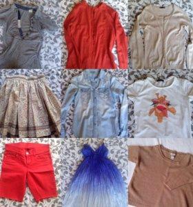 Юбка, джинсы, рубашка, платье, футболка, свитшот